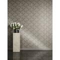 Versace barocke Mustertapete Barocco Flowers Vliestapete braun grau metallic 10,05 m x 0,70 m
