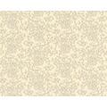 Versace klassische Mustertapete Barocco Flowers, Tapete, beige, creme, metallic