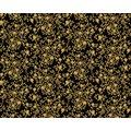 Versace klassische Mustertapete Barocco Flowers, Tapete, metallic, schwarz 935844