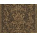 Versace klassische Mustertapete Pompei, Tapete, braun, metallic, schwarz 962161