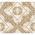 Versace Mustertapete Vasmara Vliestapete beige braun metallic 10,05 m x 0,70 m