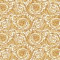 Versace Vliestapete Barocco Birds weiß gelb beige 10,05 m x 0,70 m 366925