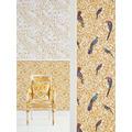 Versace Vliestapete Barocco Birds weiß gelb beige 10,05 m x 0,70 m