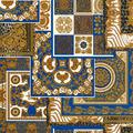 Versace Vliestapete Decoupage metallic weiß blau 10,05 m x 0,70 m