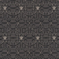 Versace Vliestapete La Scala del Palazzo metallic schwarz 10,05 m x 0,70 m 370494