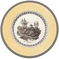 Villeroy & Boch Audun Chasse Frühstücksteller gelb,grau
