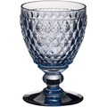 Villeroy & Boch Boston coloured Weissweinglas blue blau