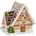 Villeroy & Boch Christmas Toys Lebkuchenhaus mit Spieluhr braun
