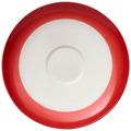 Villeroy & Boch Colourful Life Deep Red Kaffeeuntertasse rot