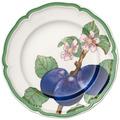 Villeroy & Boch French Garden Modern Fruits Frühstücksteller Pflaume grün,blau,bunt