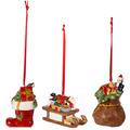 Villeroy & Boch Nostalgic Ornaments Ornamente Geschenke 3tlg. bunt
