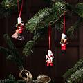 Villeroy & Boch Nostalgic Ornaments Ornamente Santa Claus, Set 3tlg. bunt