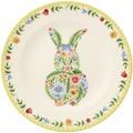 Villeroy & Boch Spring Awakening Frühstücksteller Hase gelb,grün,rot