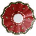 Villeroy & Boch Toy's Delight Milchkaffee-Untertasse rot