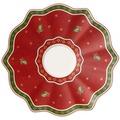 Villeroy & Boch Toy's Delight Untertasse Becher mit Henkel, rot rot
