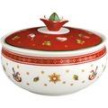 Villeroy & Boch Toy's Delight Zuckerdose weiß,rot