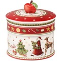 Villeroy & Boch Winter Bakery Delight Gebäckdose, klein weiß,rot