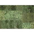 Kelii Patchwork-Teppich Colorado green 60 cm x 90 cm