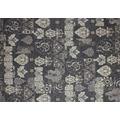 Kelii Patchwork-Teppich Patagonia black 60 cm x 90 cm