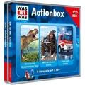 """WAS IST WAS 3-CD-Hörspielbox """"Action und Abenteuer"""" Hörspiel"""