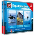 WAS IST WAS 3-CD Hörspielbox Vol.2-Expeditionsbox Hörbuch