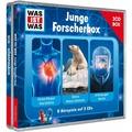 Was ist was Hörspielbox: Junge Forscher-Box (c) 2015 Tessloff Verlag Hörbuch