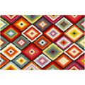 Wecon home Kurzflor-Teppich Remix Kelim WH-22865-110 rot 80x150