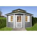 Weka Gartenhaus 149 5-Eck m.Dachaufsatz Gr.1, 28 mm