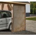 Weka Seitenwand wekaLine für Carports, natur, 28 mm