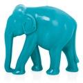 """Wiedemann BIG Edition """"Elefant"""", getaucht, 1 Stück, Höhe 195 mm, ø 220 mm, Azurblau"""