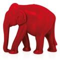 "Wiedemann BIG Edition ""Elefant"", getaucht, 1 Stück, Höhe 195 mm, ø 220 mm, Rot"