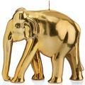 "Wiedemann BIG Edition ""Elefant"", spiegellackiert, 1 Stück, Höhe 195 mm, ø 220 mm, Gold"