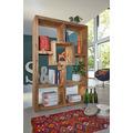 Wolf Möbel Raumteiler Regal mit 7 Fächern 120 x 180 cm natur