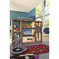 Wolf Möbel Raumteiler Regal mit 7 Fächern 135 x 100 cm natur