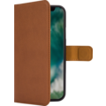 xqisit Slim Wallet Selection for iPhone X braun