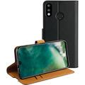 xqisit Slim Wallet Selection for P30 Lite black