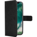 xqisit Wallet Case Viskan for iPhone X schwarz