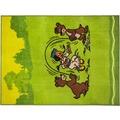 Yakari Teppich Sungila, 004, green 80cm x 150cm