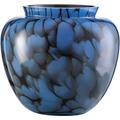 Zwiesel 1872 Splash Vase schwarz/ blau 208