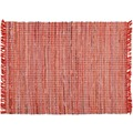 Zaba Teppich Highland handgewebt rot 60 x 90 cm