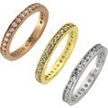 ZEEme Silver Ring 925/- Sterling Silber Zirkonia weiß  7949 52 (16,6)