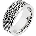 ZEEme Stainless Steel Ring Edelstahl glanz grau 13021 52 (16,6)