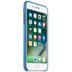 Apple iPhone 7 Plus / iPhone 8 Plus Leather Case, Sea Blue