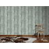 AS Création Mustertapete in Vintage-Holzoptik Decoworld, Tapete, pastelltürkis, beige 954055 10,05 m x 0,53 m