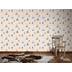 "AS Création Boys & Girls 4 Mustertapete \""Meer\"", Papiertapete, beige, blau, braun 935548 10,05 m x 0,53 m"