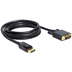 DeLock Kabel Displayport > DVI24+1 St/St 2m DL