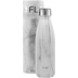 FLSK Isolierflasche 500 ml White Marble + Neoprentasche