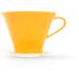 Friesland Kaffeefilter, Kannen & Kaffeefilter, 1x4 / 1-Loch Safrangelb