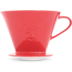 Friesland Kaffeefilter Gr. 4 Rot Porzellan