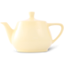 Friesland Teekanne 1,4l Pastellgelb Utah Teapot Porzellan